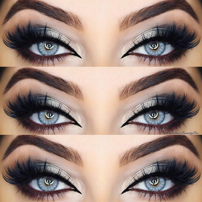eye makeup ideas for blue eyes with blonde hair