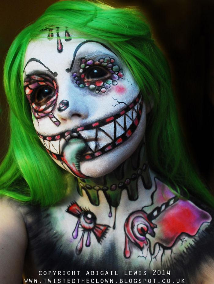 scary clown makeup ideas for halloween