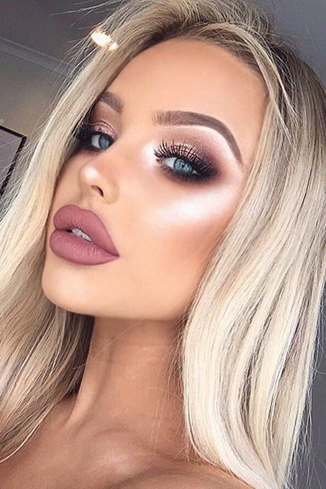 semi formal makeup idea for teenage girl