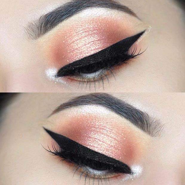 eye makeup ideas for homecoming