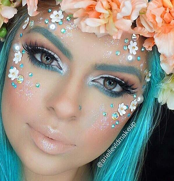 7 cute halloween makeup ideas