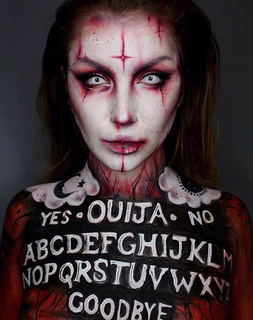 Ideas : Best scary halloween costume makeup ideas