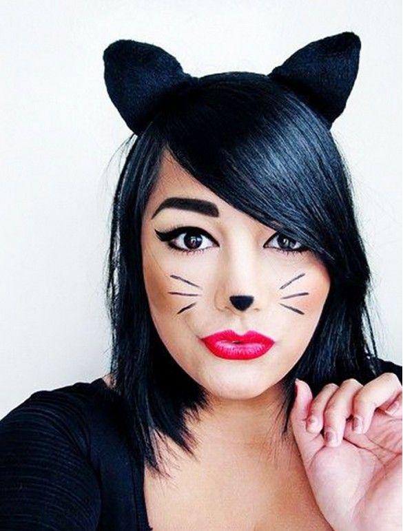 cat halloween costume makeup ideas
