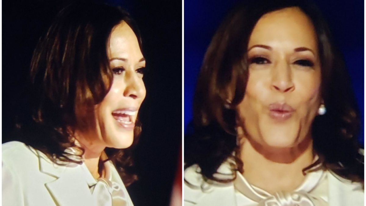 Does anyone know what lipstick VP-elect Kamala Harris was wearing tonight?