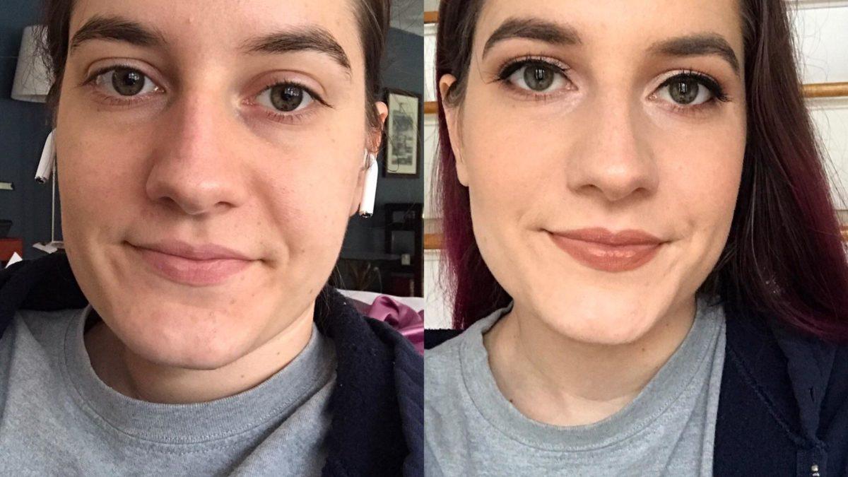 First attempt at bridal makeup (and first attempt at false eyelashes)