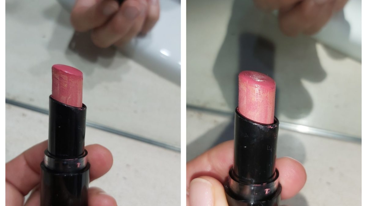 Friends!  Can you help me?  Has this lippie gone wrong?