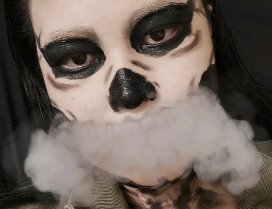 Is it too late to post my Halloween look?