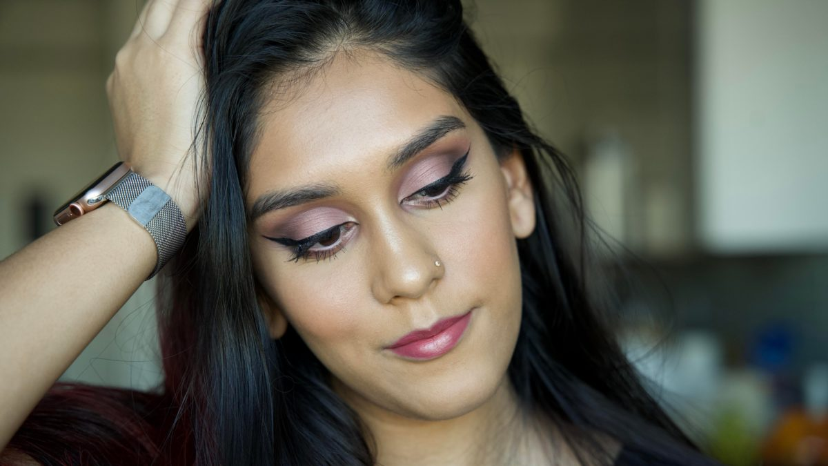 My attempt at a mauve fall look!