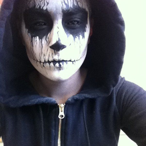 Makeup inspiration : Best easy scary halloween makeup for guys
