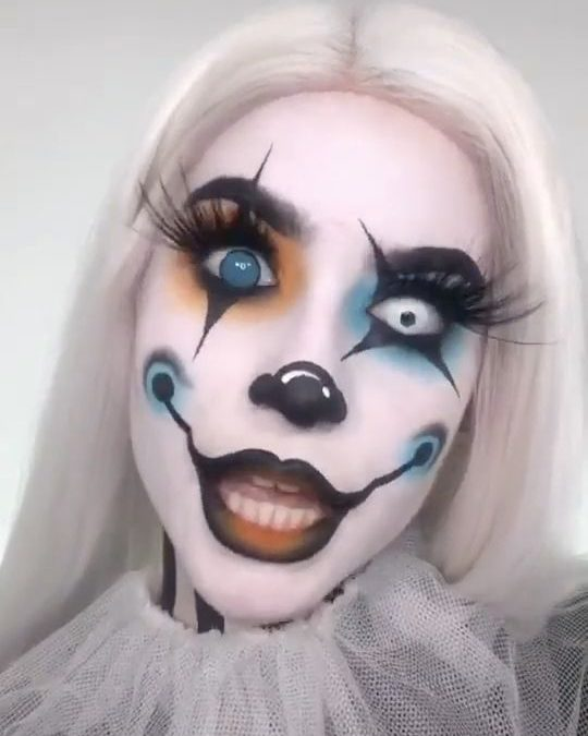 Trends : Best scary makeup tutorial for halloween