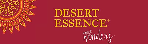 Desert Essence, DE, Desert Essence Logo, DE Logo
