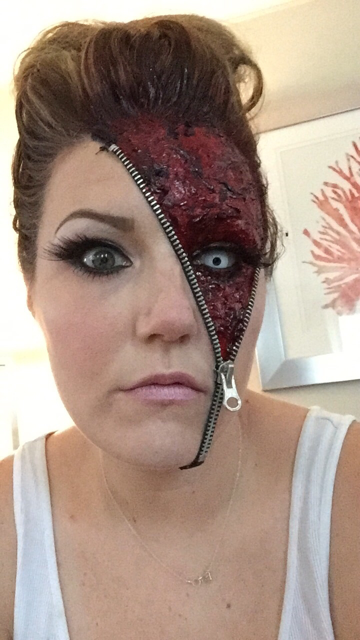 scary makeup costume ideas