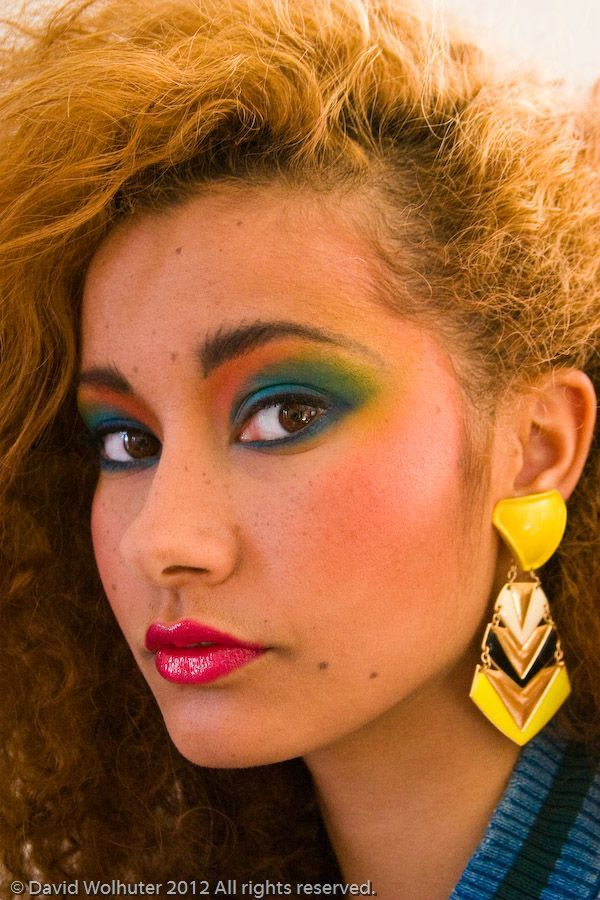 80s hair and makeup ideas
