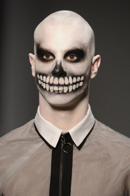 halloween makeup ideas for bald guys