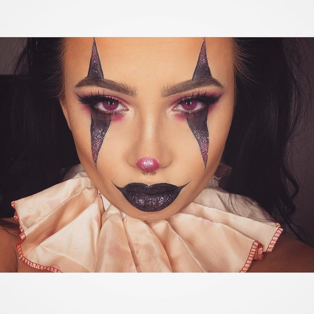 scary easy makeup for halloween