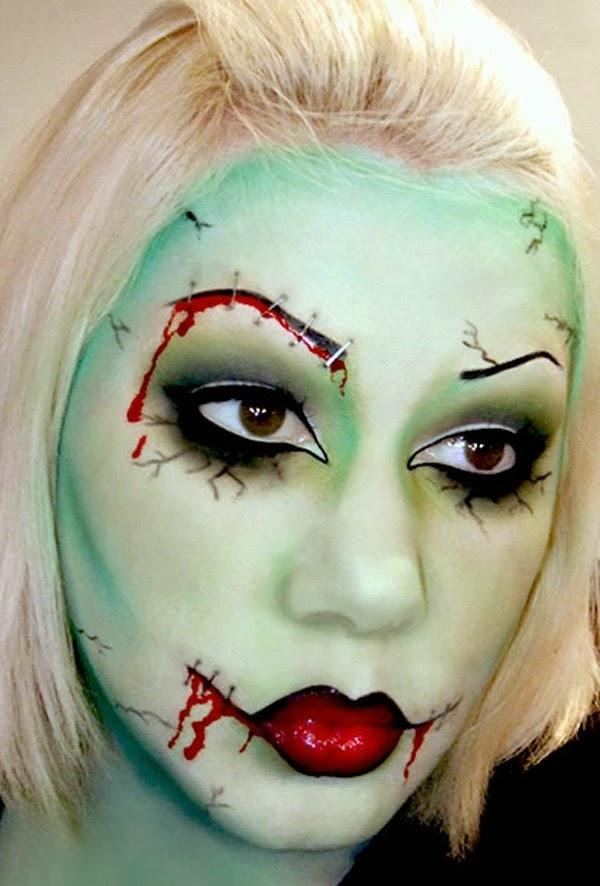 scary halloween costume makeup ideas