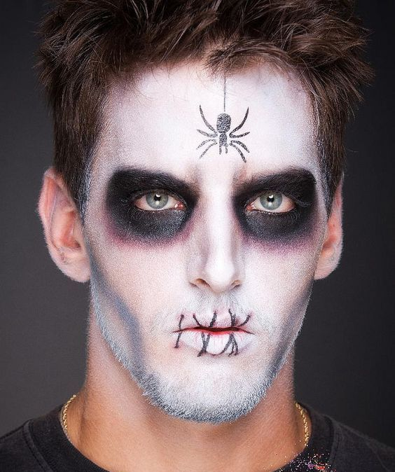 halloween makeup ideas for guys easy