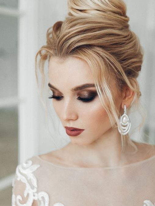 Collection : Top bridal makeup ideas for blue eyes