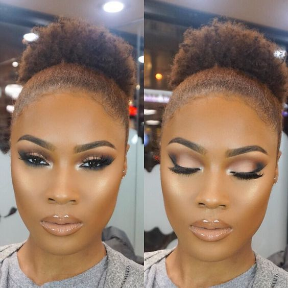 Makeup trends : Best prom makeup ideas for brown skin