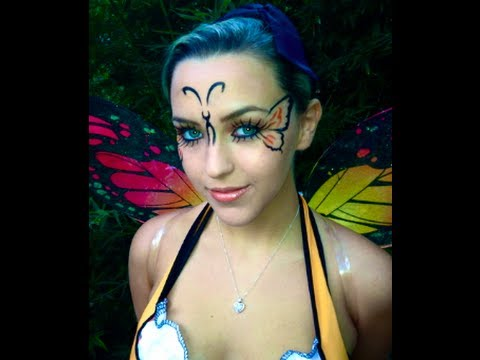 simple butterfly makeup ideas