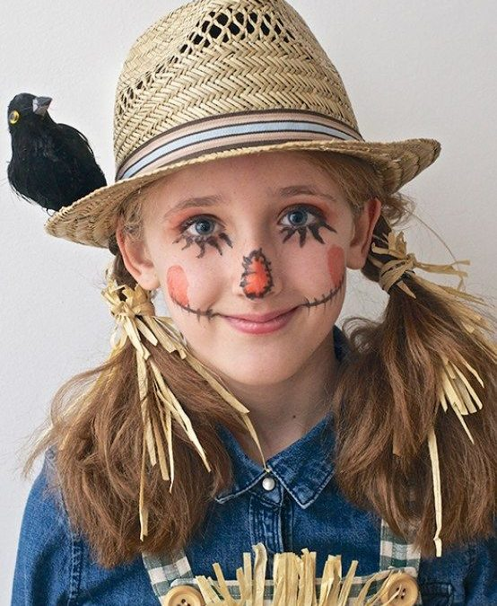 Collection : Best scarecrow toddler makeup ideas