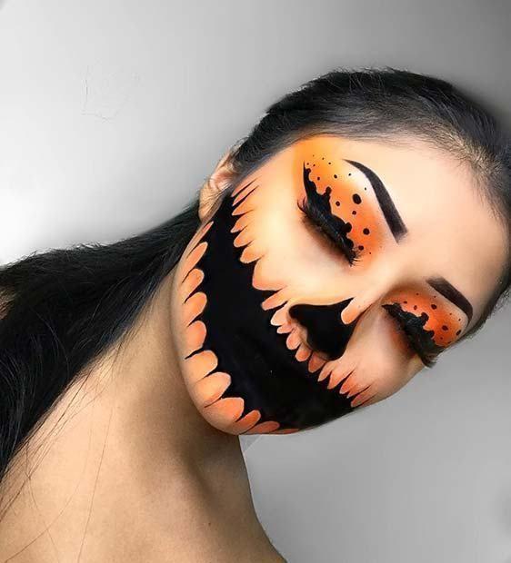 Makeup inspiration : Top halloween horror makeup ideas