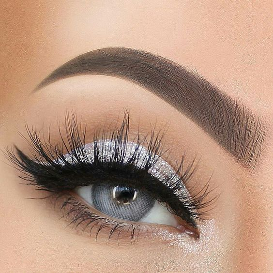 Trends : Best silver eywshadow makeup ideas