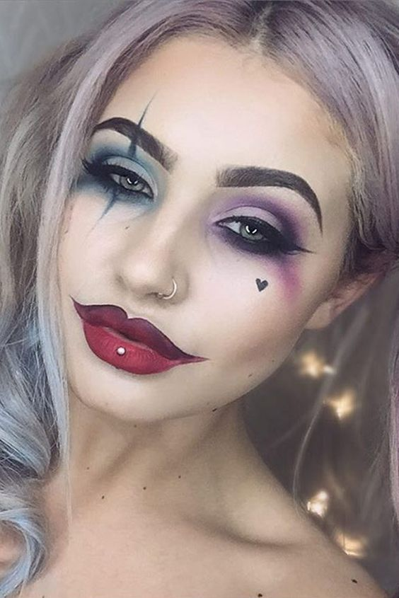 cool easy makeup looks for halloween