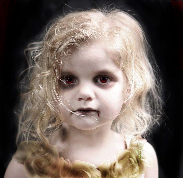 Makeup inspiration : Best vampire makeup ideas for little girl