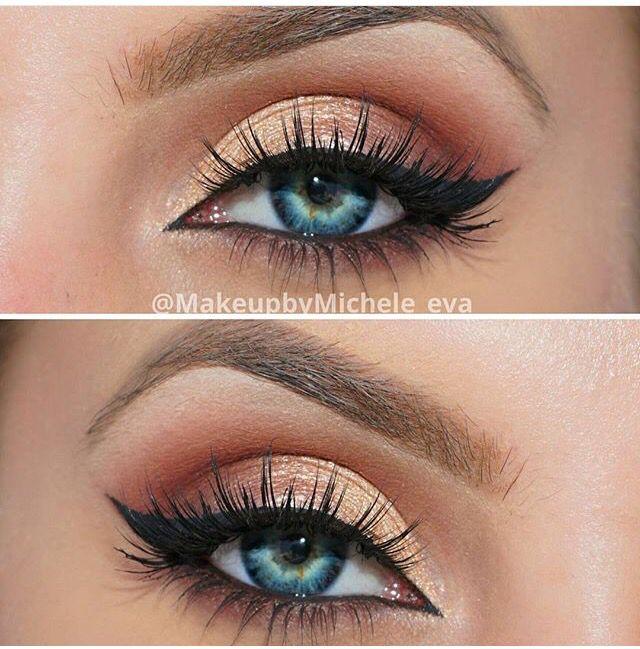 Makeup trends : Best simple makeup ideas for blue eyes