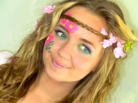 makeup ideas for hippie costume