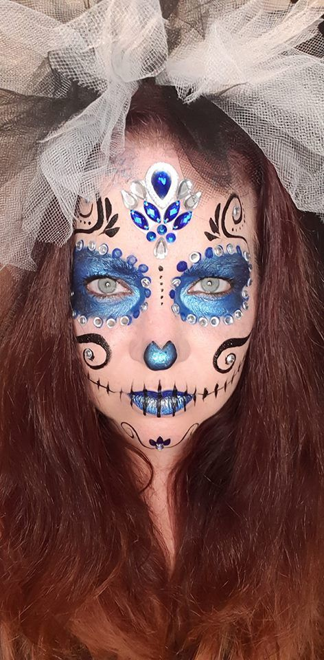 easy makeup for day of the dead