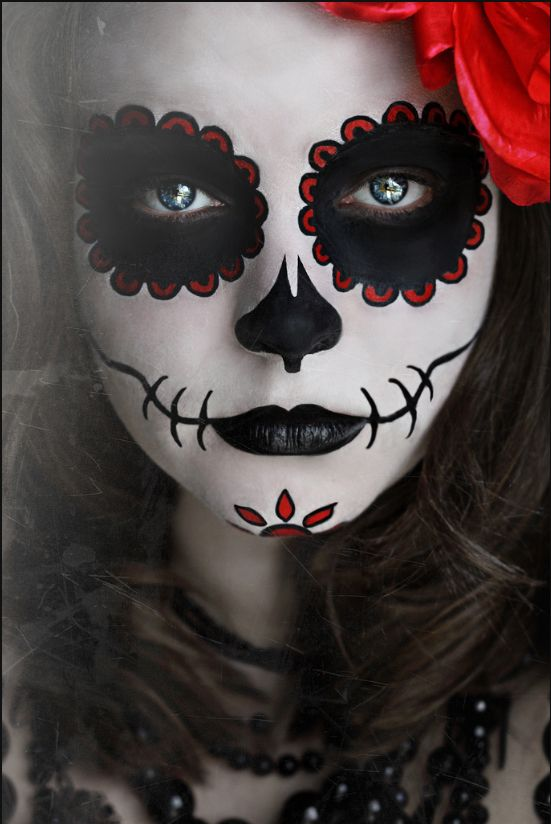halloween makeup ideas day of the dead