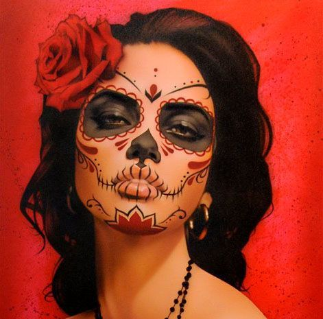 Collection : Best makeup ideas for day of the dead