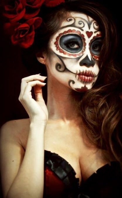 Collection : Best halloween makeup ideas day of the dead