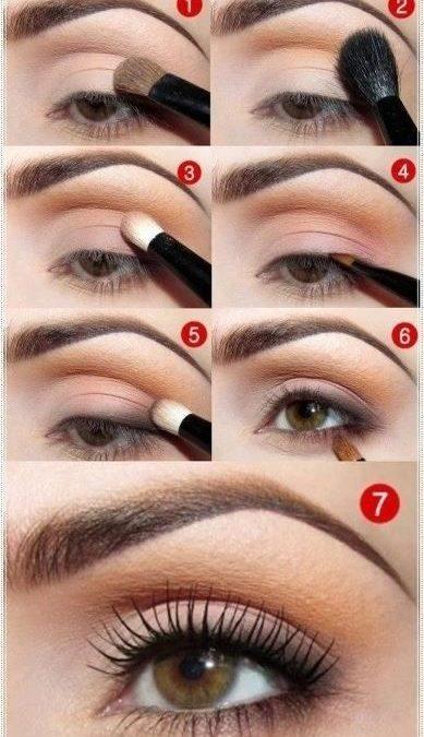 Makeup inspiration : Top easy natural makeup for brown eyes