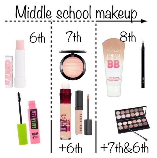 natural easy makeup for school
