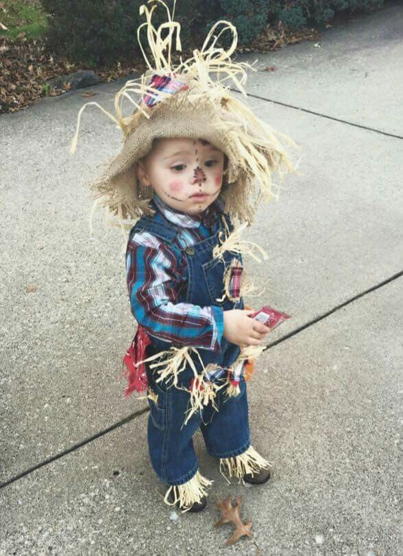 scarecrow makeup ideas for my 2 yr old