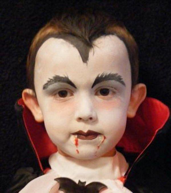 easy vampire makeup for guys