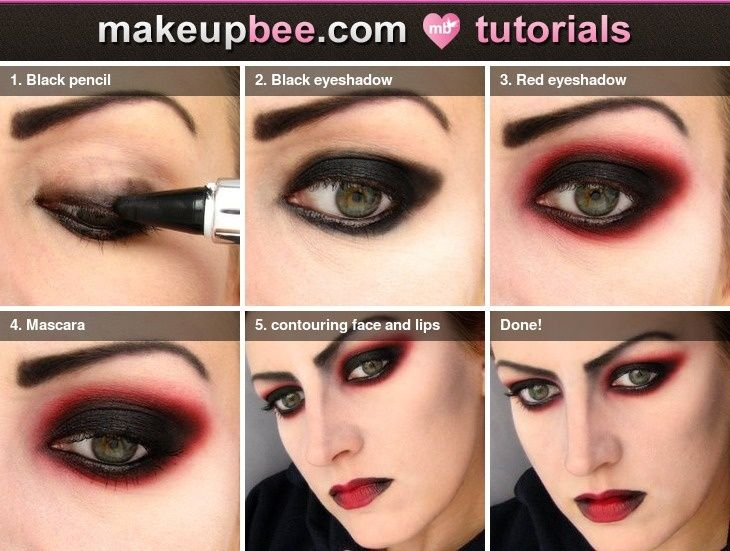 Trends : Top step by step fx makeup easy