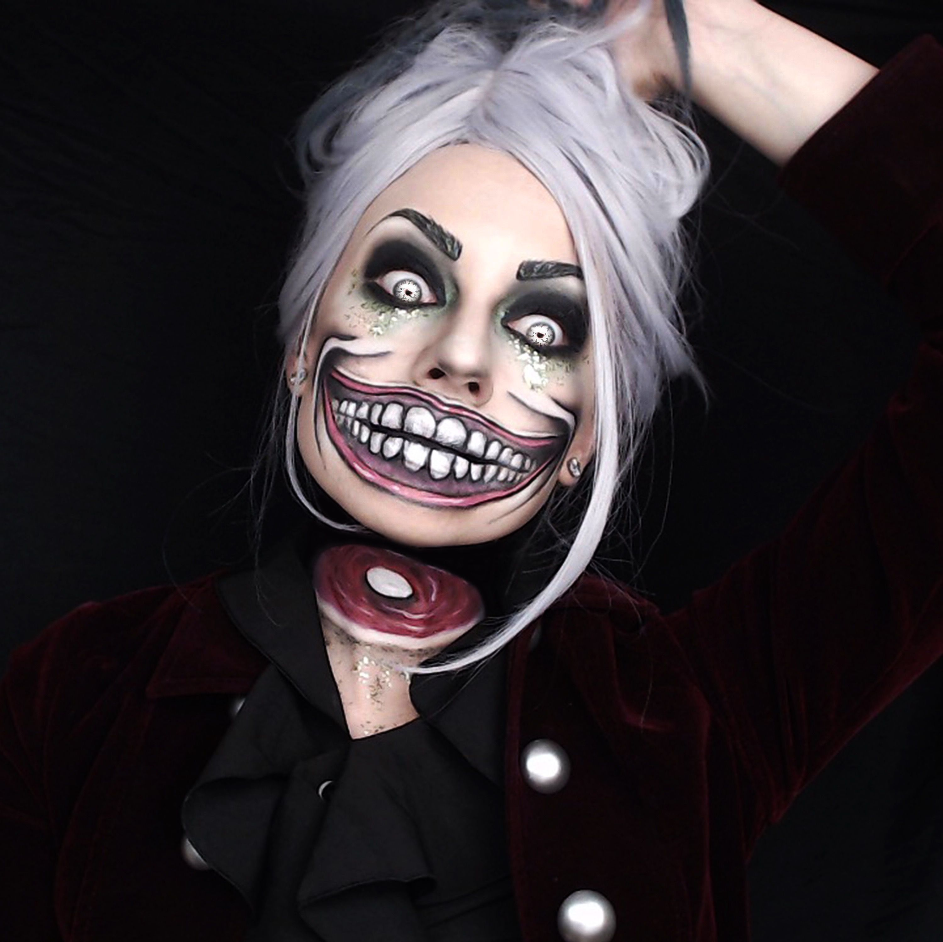scary toriel costume ideas and makeup