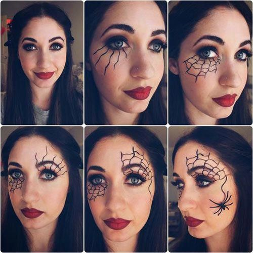 cute beginner halloween makeup easy