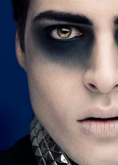 Collection : Best easy vampire makeup for male