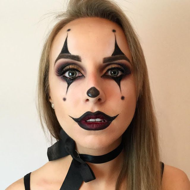 scary clown makeup ideas easy