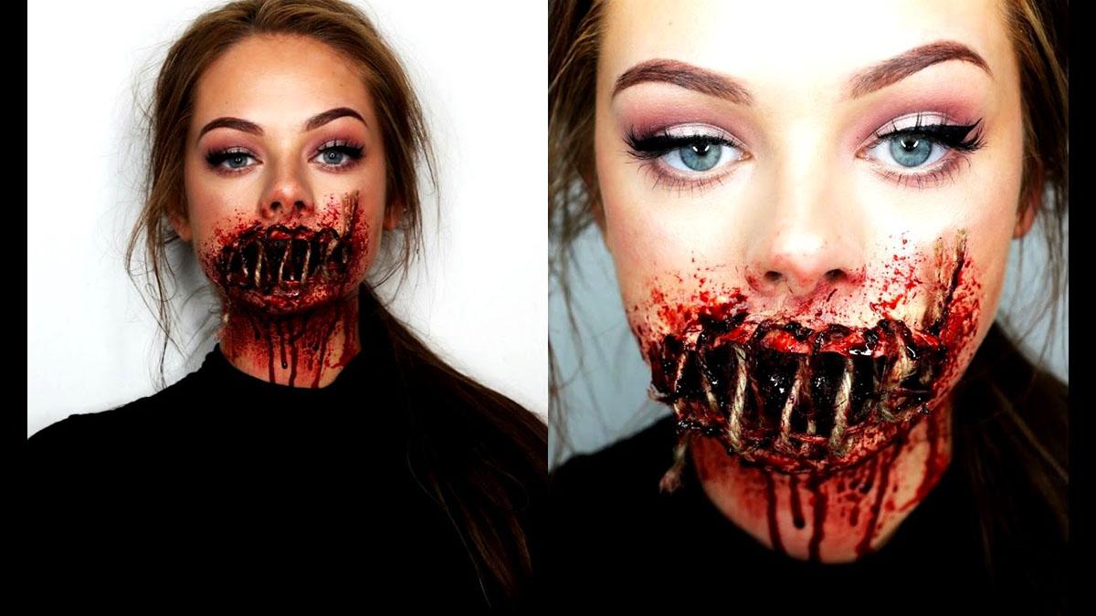scary movie sfx makeup ideas