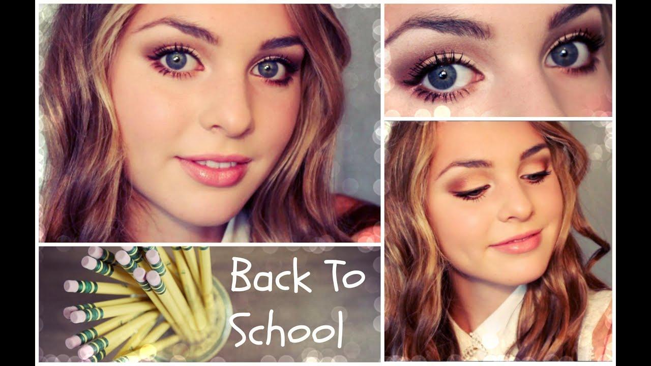 simple makeup ideas back to school