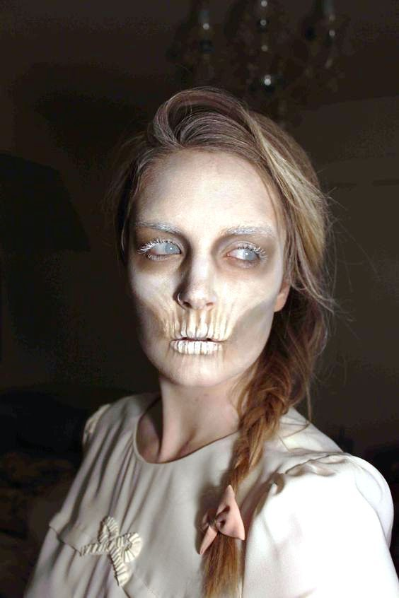 scary ghost makeup ideas