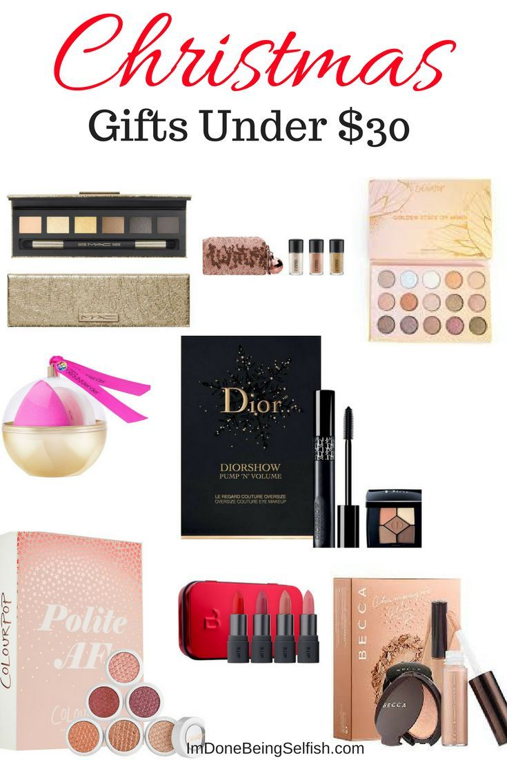 christmas gift ideas for makeup lovers