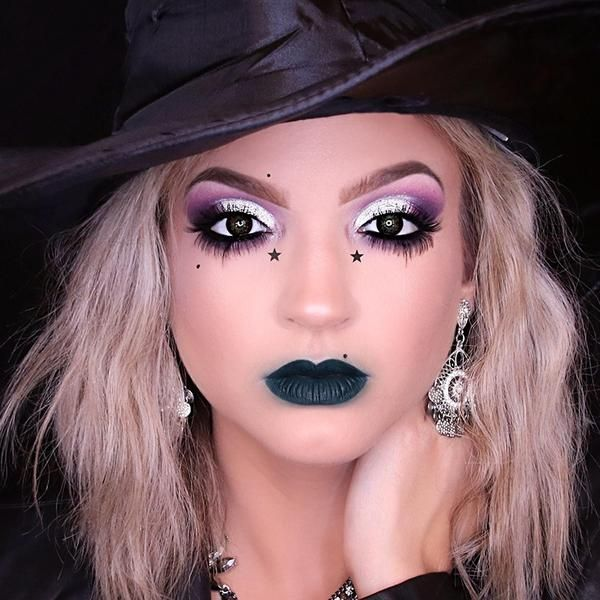 easy halloween witch makeup ideas