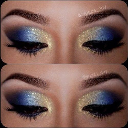 easy makeup ideas for blue eyes
